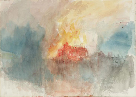 JMW Turner Fire at the Grand Storehouse of the Tower of London