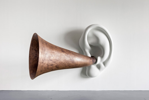 John Baldessari Beethoven Trumpet with Ear